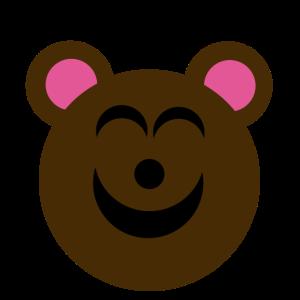 Süßer lächelnder Teddybär Geschenkidee