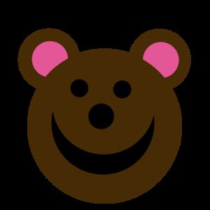 Niedlicher fröhlicher Teddy Geschenkidee