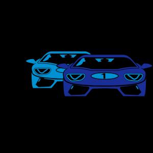 Rennwagen sportwagen kunst
