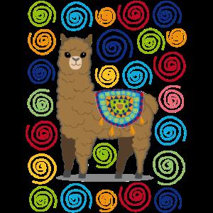 Süßes Lama Alpaka Shirt für Männer und Frauen