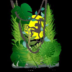 Dschungelaffe