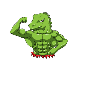 Fitness Workout Motivation Tyrannosaurus Flex