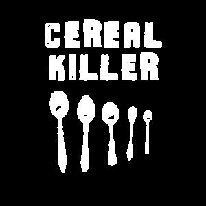Getreide-Mörder-lustiges Serienmörder-Wortspiel