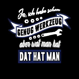 Werkzeug Spruch Männer