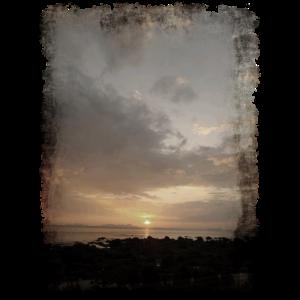 ausgerissen Sonnenuntergang