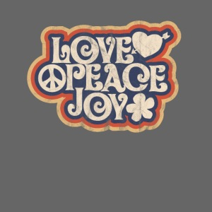 love peace joy 1969 Hippie Design Geschenk