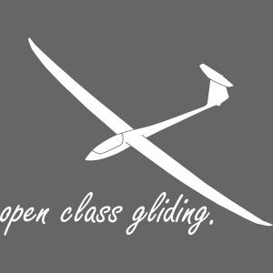 offene Klasse Segelflieger gleiten Segelflugzeug