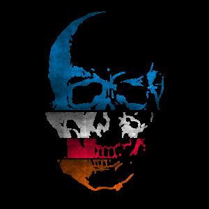 Abstract Skull Totenkopf Totenschädel abstrakt