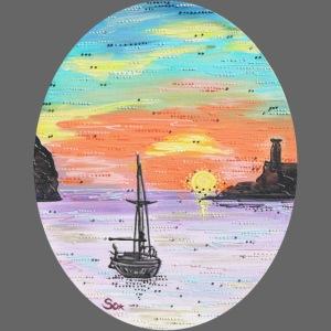 Port de Sollers Sonnenuntergang
