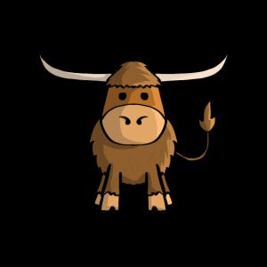 Schottisches Hochlandrind Kuh