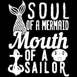Funny Mermaid Lover Fan Quotes Ocean