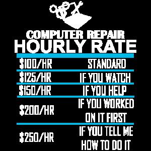 Technischer Support Computer Reparatur Stundensatz