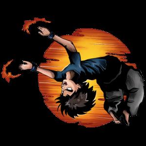 Backflip Anime Manga Figur
