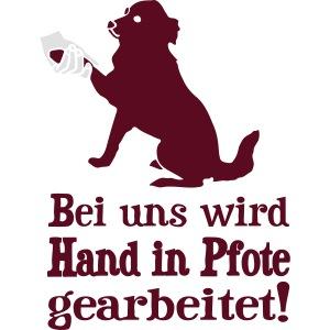 Hund Hundetraining Hundeschule Hundehalter Spruch
