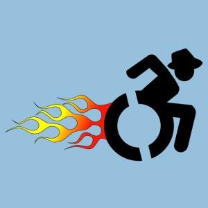 Roller met vlammen 008