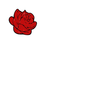 Oldies & Chill Chola Altes englisches Rose Tee