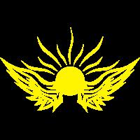 Flügel Sonne Sonnenschein 1011 logo