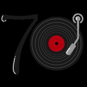 70er Jahre Musik Schallplatte