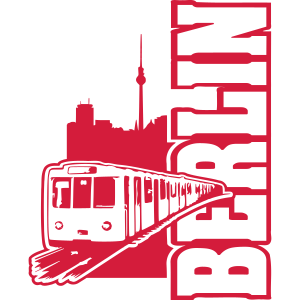 Berlin U-Bahn (1 color)