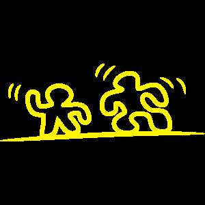 Maennchen gelb