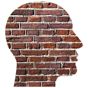 Kopf Wand