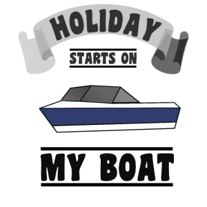 Holiday Starts on My Boat