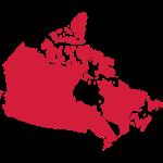 Kanada, Canada Map