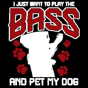 Bassgitarre Hund