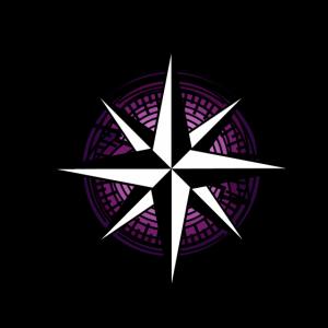 Ahoi Nautik Kompass Windrose Seefahrt