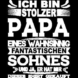 Papa Sohn Geschenk Lustig Spruch Weihnachtsgesche