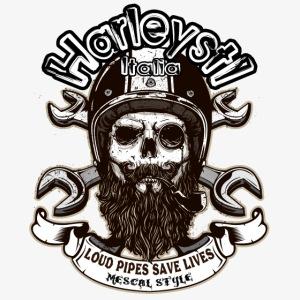 Harleysti Italia - Loud Pipes Save Lives
