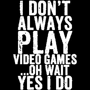 Gamer Spruch