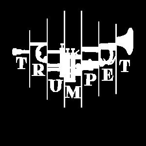 Trompete Abstrakt Trompetenspieler
