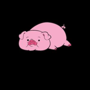 Entspanntes / relax Schwein