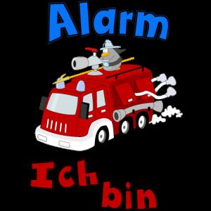Alarm Feuerwehr Kindergeburtstag Geburtstag Baby