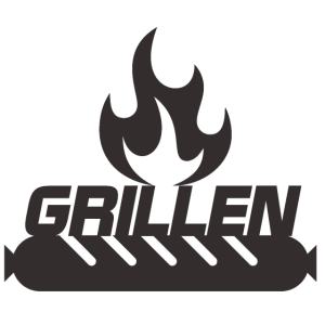 Grillen Schwarz