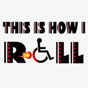 Zo rol ik met mijn rolstoel 004