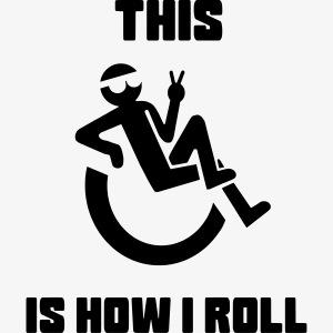 Zo rol ik in mijn rolstoel 012