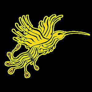 Kolibri-Phoenix Gelb-Orpin