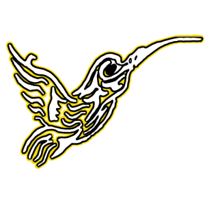 Kolibri-Kolibri-Weiß