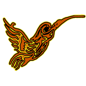 Kolibri roter Kolibri