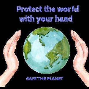 Safe The World, LIMITED EDITION, Erde, Klima