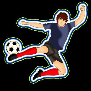 Fussballer Fussball - Design