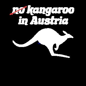 (k)ein känguru in Oesterreich