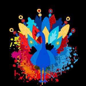 Pfau Vögel