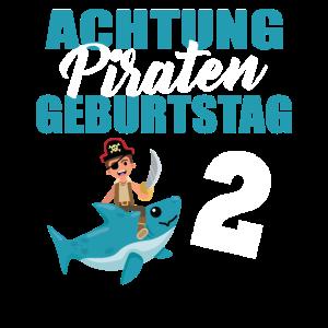 Piraten Kind 2 Jahre alt zweiter Geburtstag