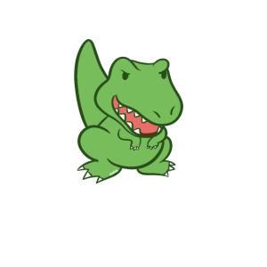 Großer Bruder Dino T-Rex Dinosaurier