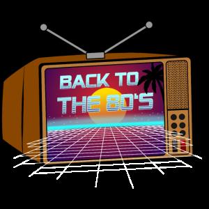 80er Jahre Retro Wave