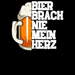 Bier hat mir nie das Herz gebrochen Alkohol Liebe