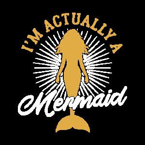 Funny Mermaid Lover Fan Ocean Beach